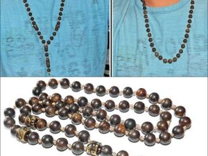 Bronzite Mala Y Necklace