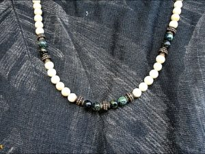 Ivory Coral Long Necklace