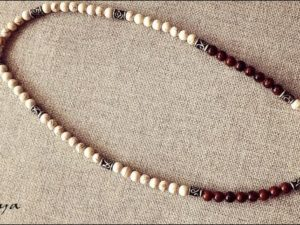 Jasper and Howlite Necklace