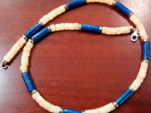 Lapis Surfers Necklace