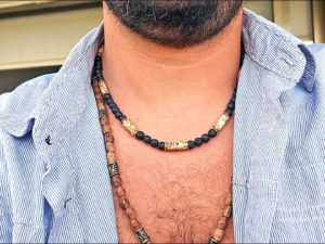 Lava and Wood Beads