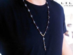 Snow Flake Y Necklace