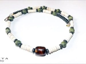 Surfer Necklace – Serpentine Gems