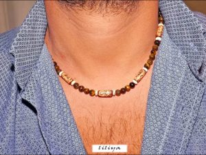Tiger Eye Surf Choker